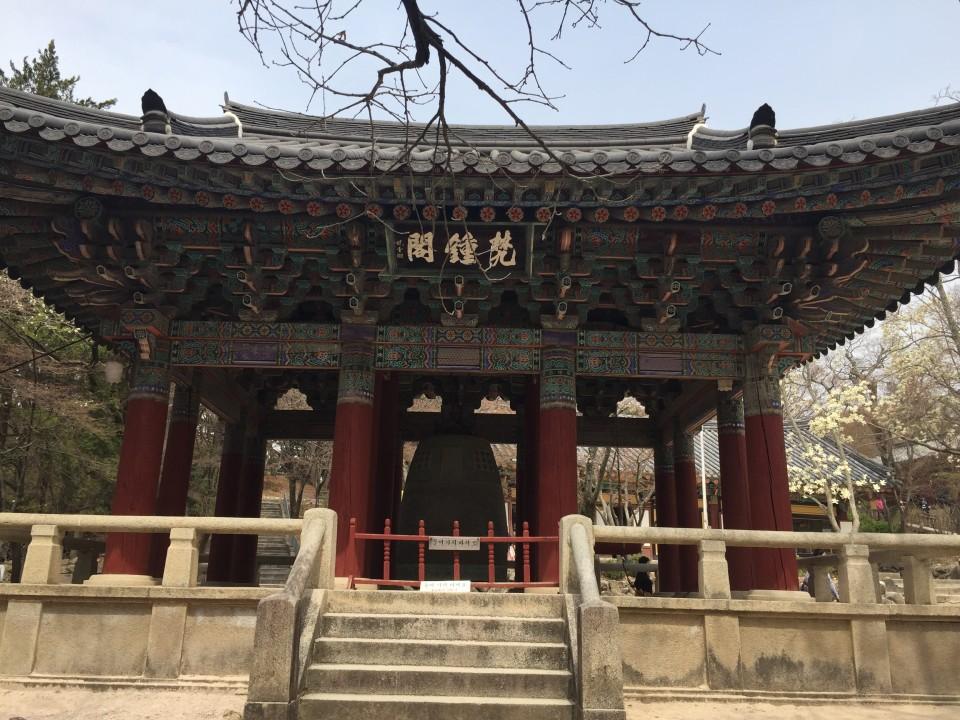 仏国寺(불국사)梵鐘閣