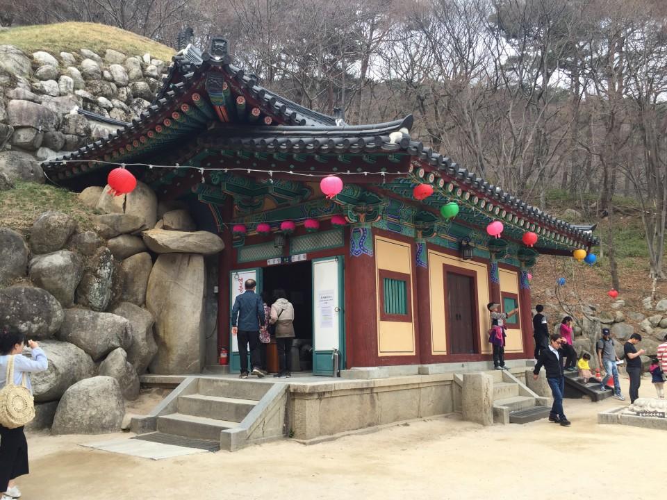 韓国の世界遺産 石窟庵(석굴암)