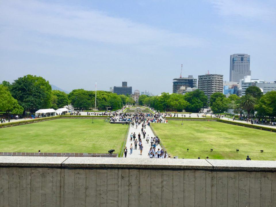 原爆ドーム 平和記念公園