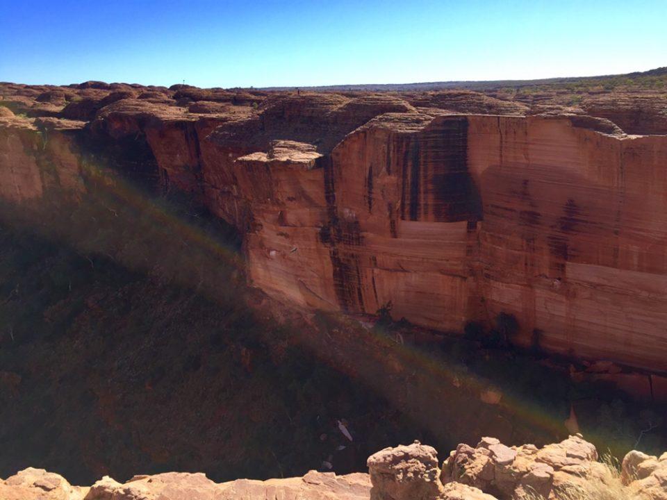 オーストラリア ワタルカ国立公園 キングスキャニオン Kings Canyon