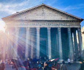 イタリア ローマの歴史地区