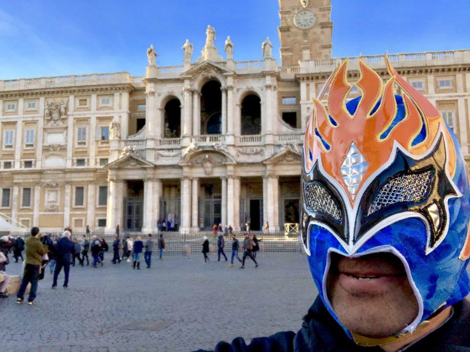サンタ・マリア・マッジョーレ大聖堂と世界遺産マン