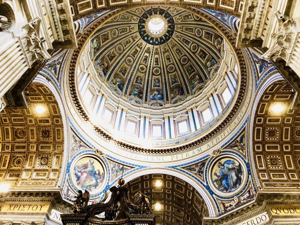 サンピエトロ大聖堂 ミケランジェロのクーポラ