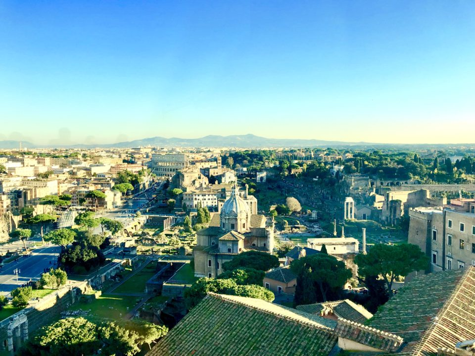 イタリアの首都ローマ