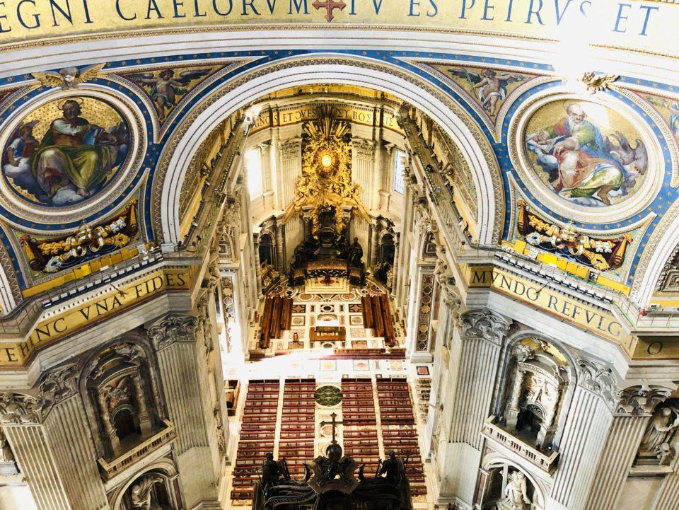 サンピエトロ大聖堂クーポラ