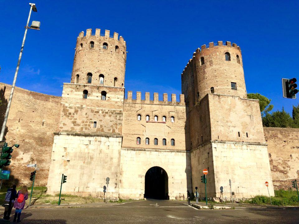 アウレリアヌスの城壁 サン・セバスティアーノ
