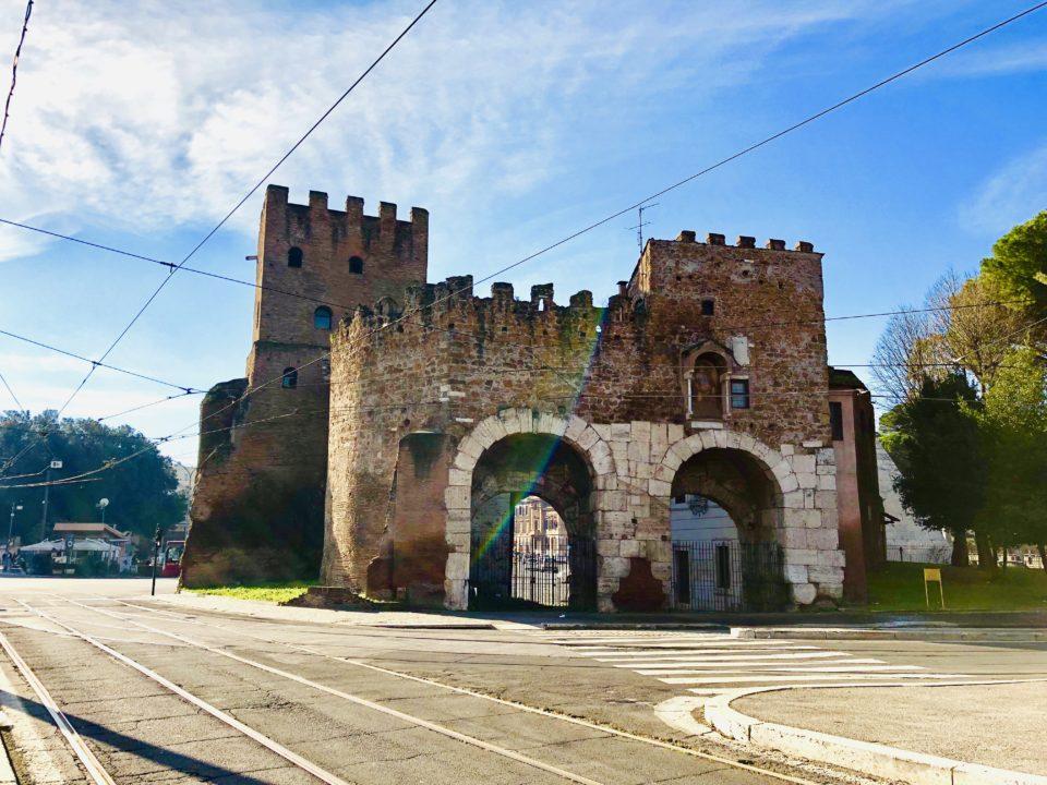 アウレリアヌスの城壁 サン・パオロ