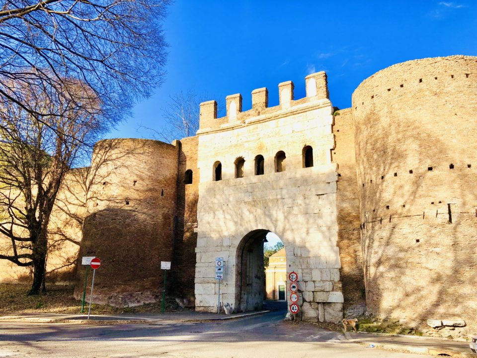 アウレリアヌスの城壁 ラティーナ