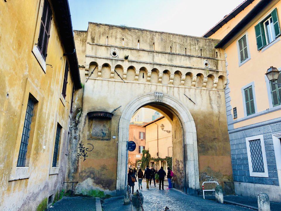 アウレリアヌスの城壁 セプティミアーナ