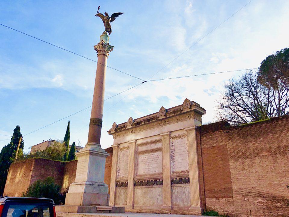 アウレリアヌスの城壁 戦勝記念塔
