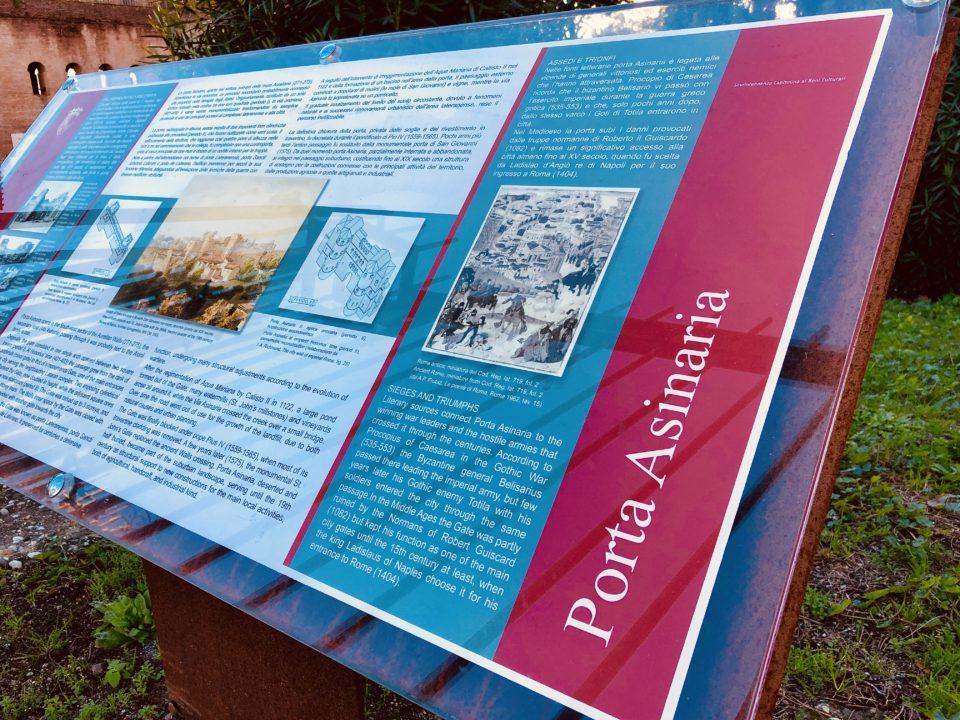 アウレリアヌスの城壁 アジナリア