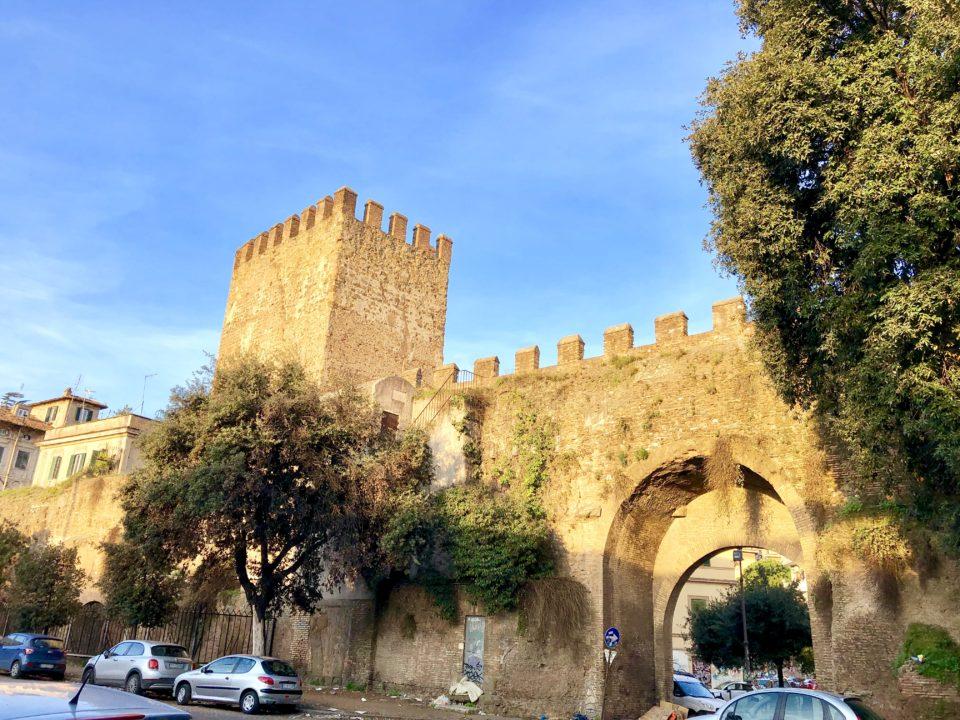 アウレリアヌスの城壁 ティブルティナ