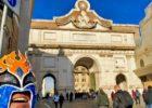 イタリア ローマ アウレリアヌスの城壁