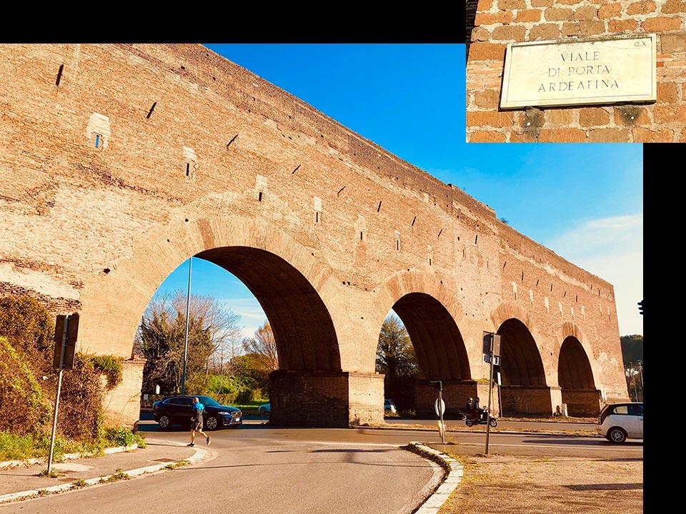 アウレリアヌスの城壁 アルデアティーナ
