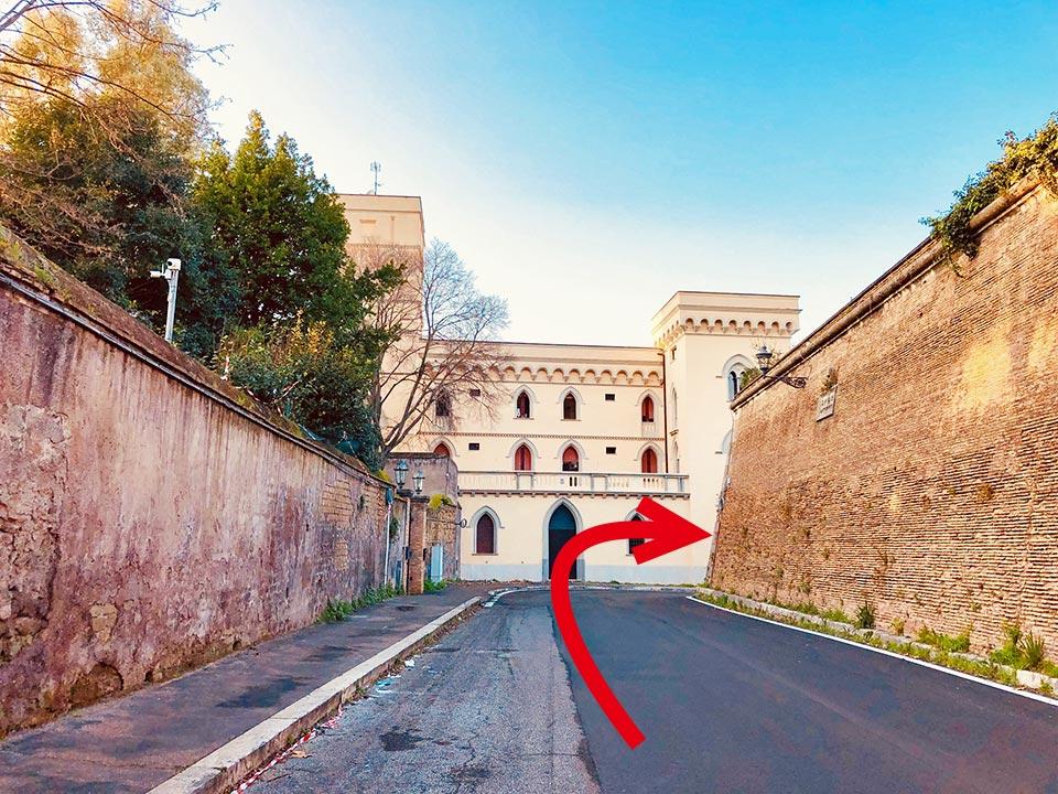 アウレリアヌスの城壁 ムーラ・アウレリエ通り