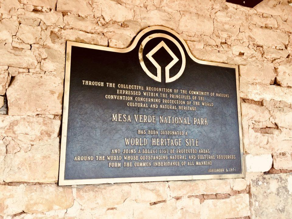 世界最初の世界遺産メサ・ヴェルデ国立公園