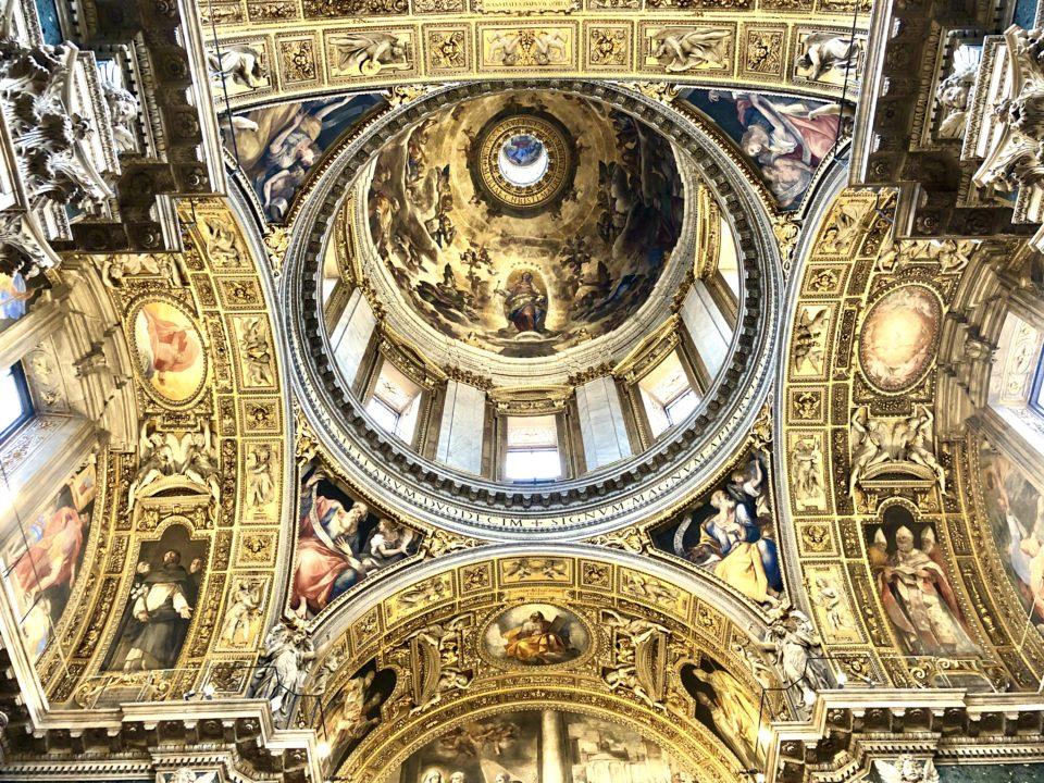 サンタ・マリア・マッジョーレ大聖堂クーポラ
