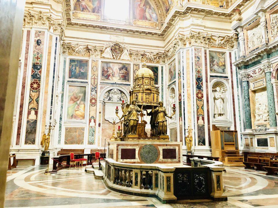 サンタ・マリア・マッジョーレ大聖堂 システィーナ礼拝堂