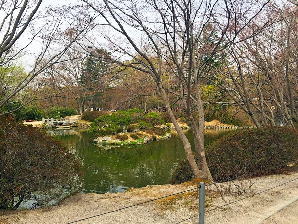 韓国の世界遺産 仏国寺(불국사)の池