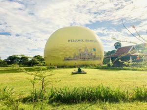カンボジアの世界遺産 アンコール・ワット アンコールバルーン