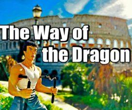 ドラゴンへの道 ロケ地巡りへの道 世界遺産 ローマの歴史地区