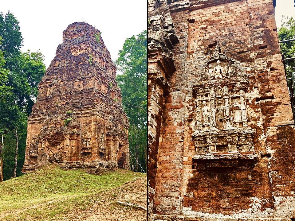 カンボジアの世界遺産 サンボー・プレイ・クック トロペアン・ロペアック