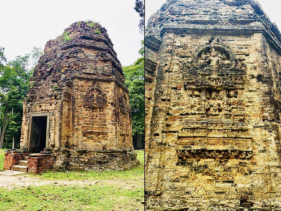 カンボジアの世界遺産 サンボー・プレイ・クック プラサット・サンボー