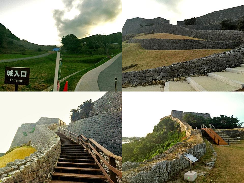 世界遺産 沖縄 琉球王国のグスク 勝連城跡