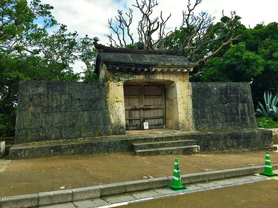 世界遺産 沖縄 琉球王国 園比屋武御嶽石門