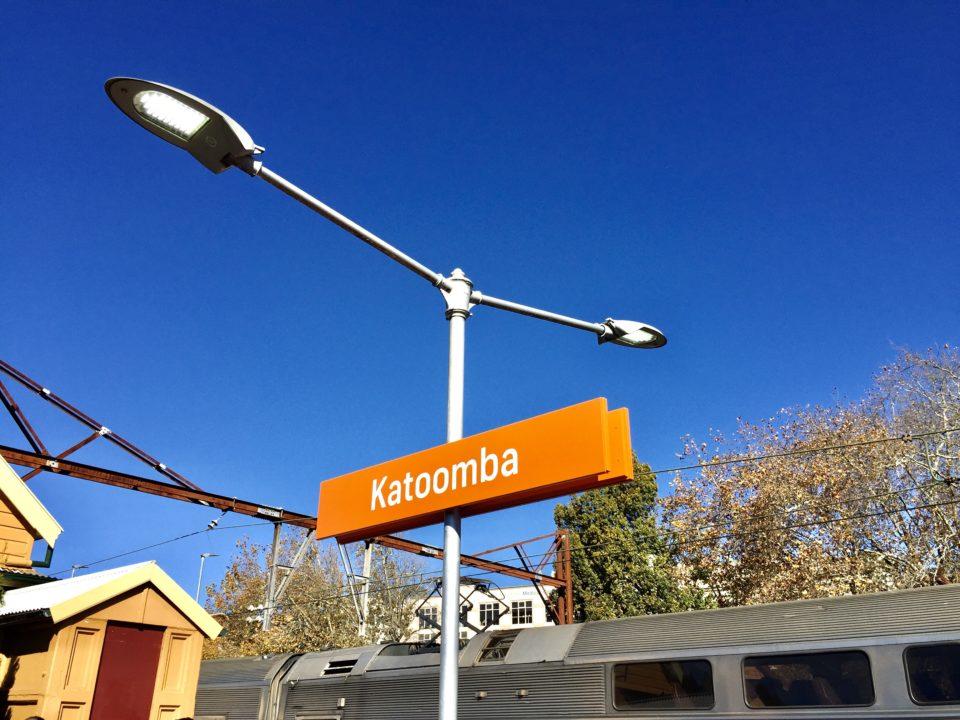 オーストラリア カトゥーンバ駅 Katoomba