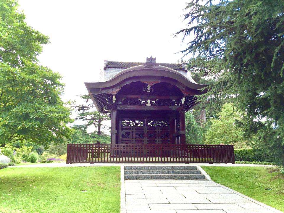 キューガーデン 京都西本願寺勅使門