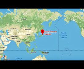 東京オリンピック地図