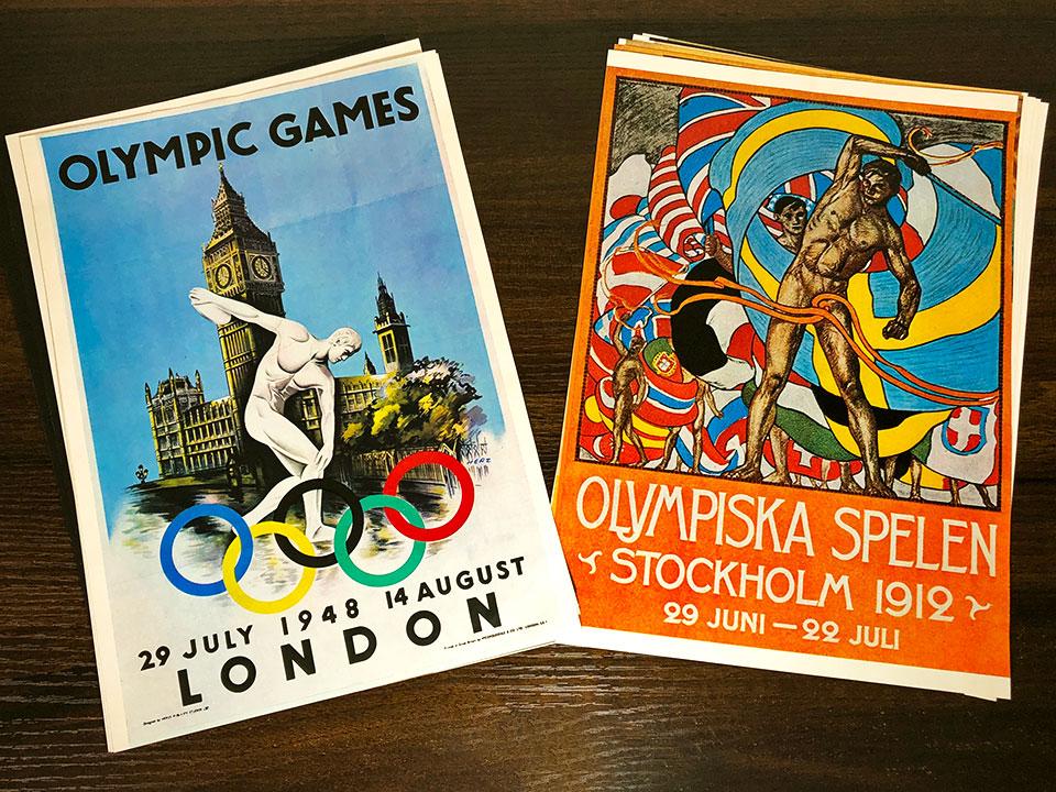 過去のオリンピックポスター